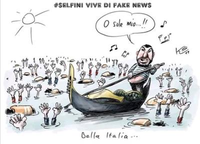 #Selfini vive di fake news.