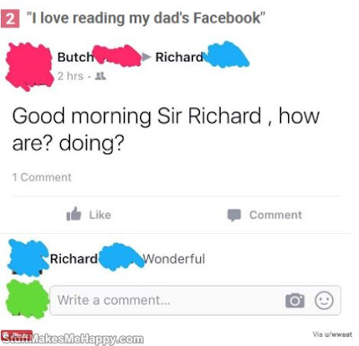 Funniest Posts from Fathers and Grandfathers Who've No Idea How to use Facebook