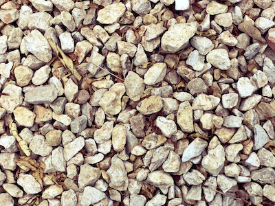 Rocks top view stock image