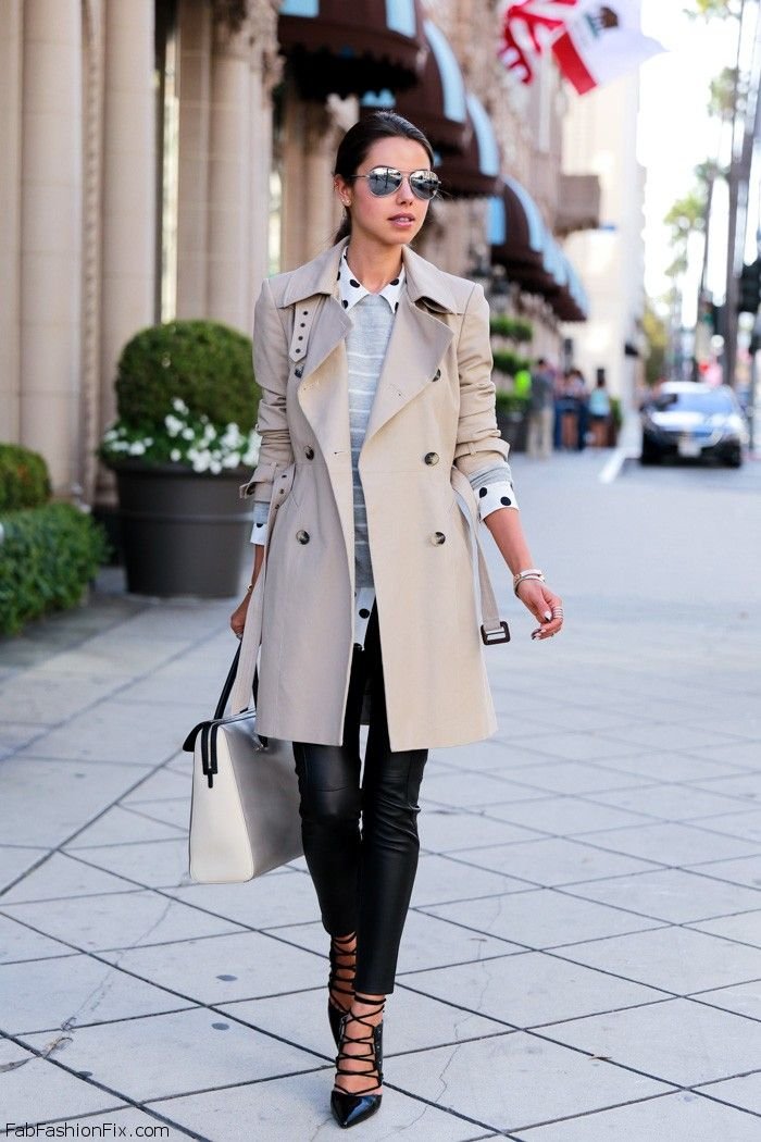 style a trench coat