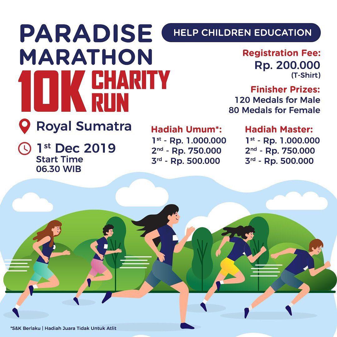 Paradise Marathon 10K Charity Run • 2019