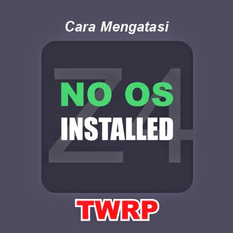 no os installed pada twrp