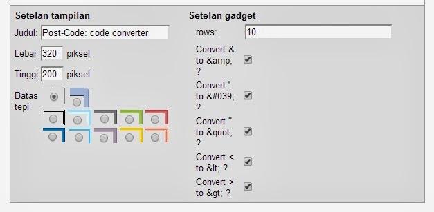 Cara Cepat Memasang Tool Parse HTML di Blog