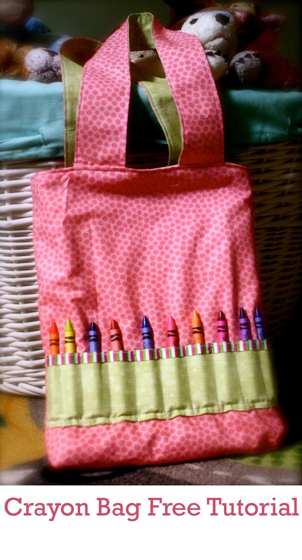 Crayon Bag Tutorial