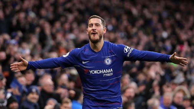 Pemain Terbaik Liga Inggris Pilihan Fans: Eden Hazard