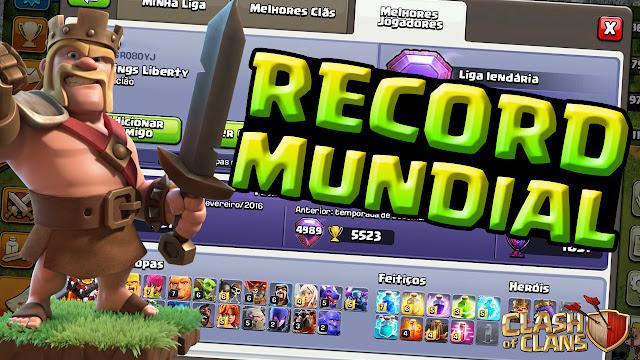 Record Mundial Brasileiro no Clash of Clans