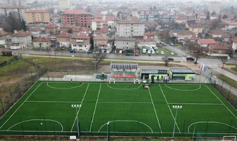 Bulgarian Football Union (BFU)  mini pitches represents bright future