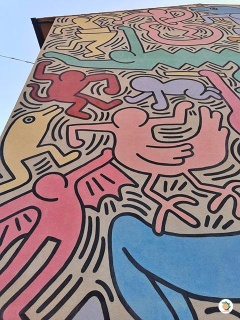 Il Murale Tuttomondo Keith Haring