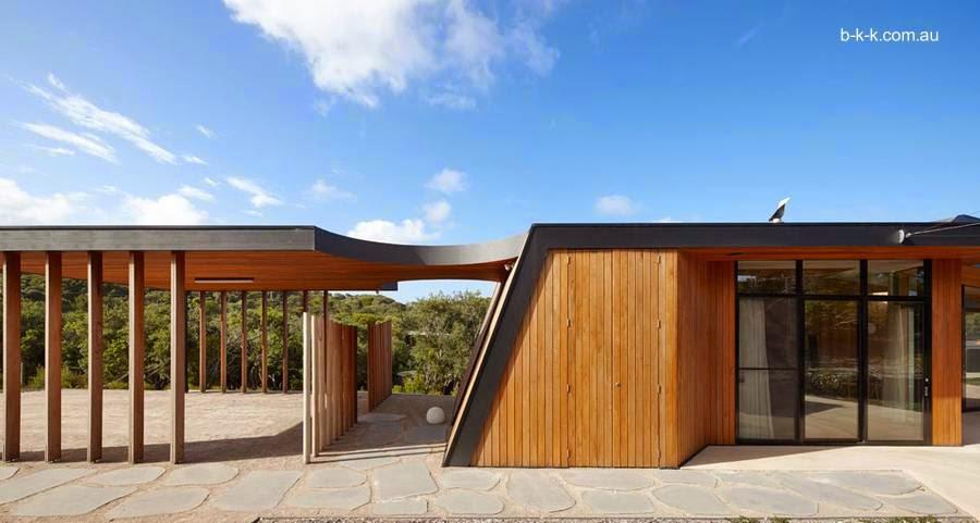 Casa contemporánea para vacaciones en Australia
