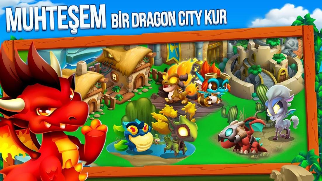Dragon City Altın Level Kasma Hileli APK - Android 2020