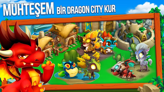 Dragon City Altın Level Kasma Hileli APK - Android 2020