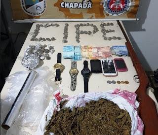 Cipe prende cinco traficantes