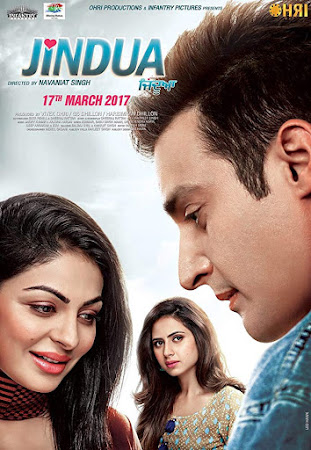 Poster Of Punjabi Movie Jindua 2017 Full HD Movie Free Download 720P Watch Online