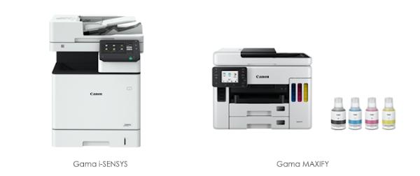 Canon amplia gamas i-SENSYS e Maxify como parte da sua aposta em escritórios em casa, de pequena dimensão e coworking