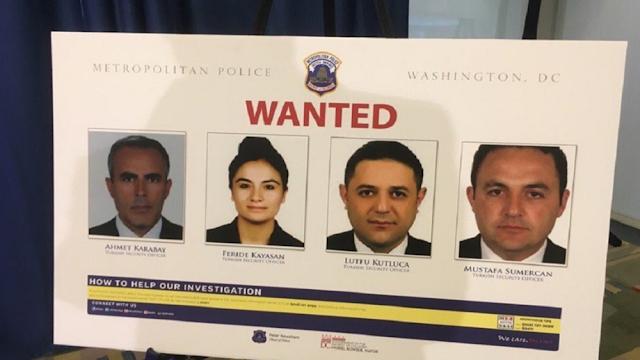 ΗΠΑ: Θα απαγγελθούν κατηγορίες στους άντρες του Ερντογάν