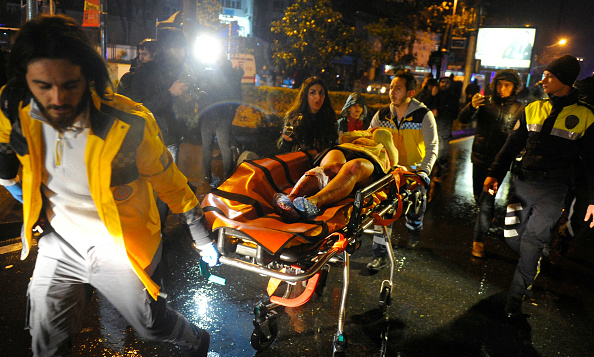 39 Killed, 69 Injured in New Year's Eve Attack on Istanbul Nightclub