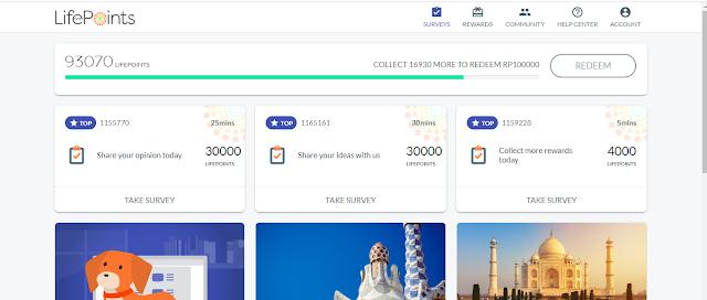 survey online merupakan situs yang membayar anda setelah menyelesaikan survey dan kita akan dibayar dengan rupiah