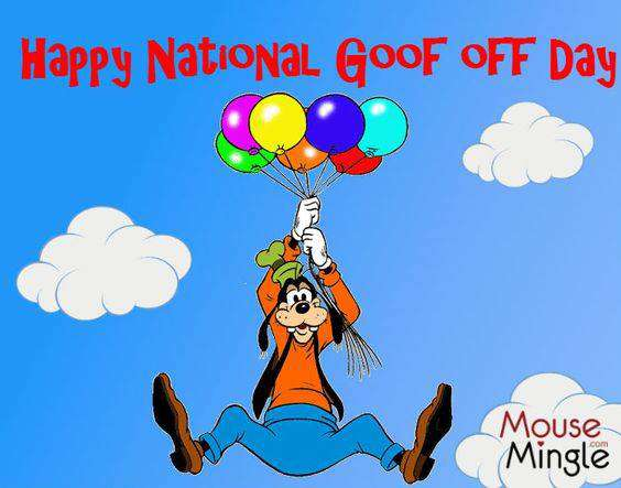 National Goof Off Day Wishes For Facebook
