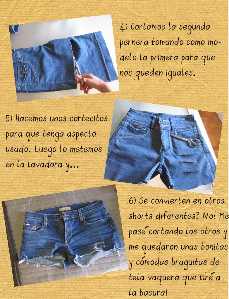 07f25a79ba8f El arte de las cosas nimias: DIY: Convierte tus antiguos pantalones ...