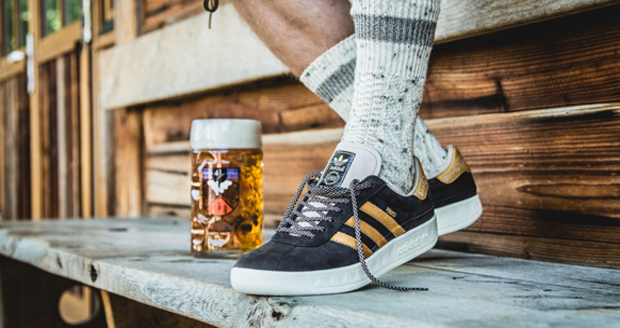 Adidas Barf and Beer-Proof Sneakers