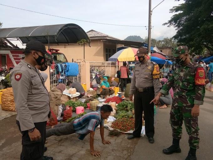 Operasi Gabungan Yustisi Polsek Padang Cermin, Polres Pesawaran, Provinsi Lampung Bersama Unsur TNI