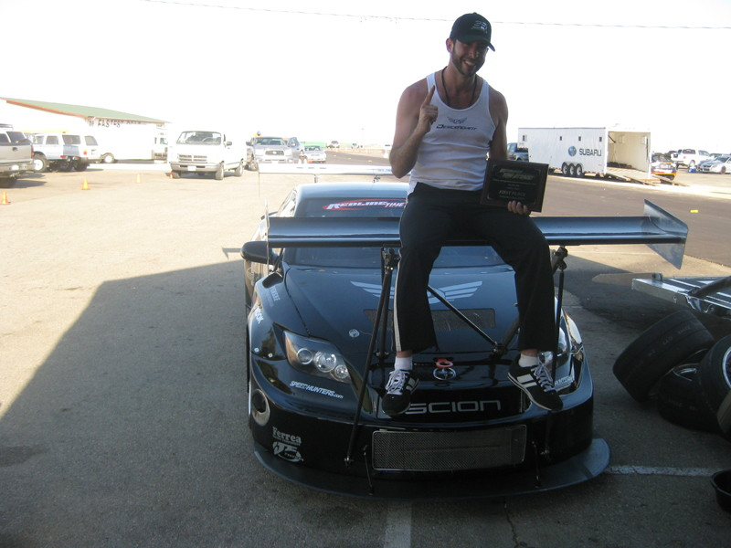 Scion tC, time attack