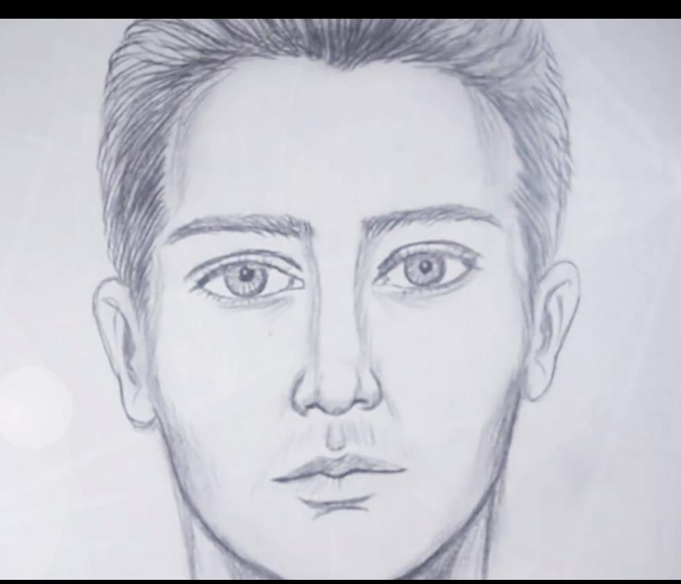طريقة رسم الوجه خطوة بخطوة