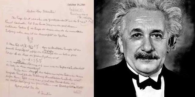 Surat Tulisan Tangan Albert Einstein Berisi Rumus Terjual Seharga Rp 17,8 Miliar