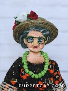 мастер-класс соломенная шляпа для куклы