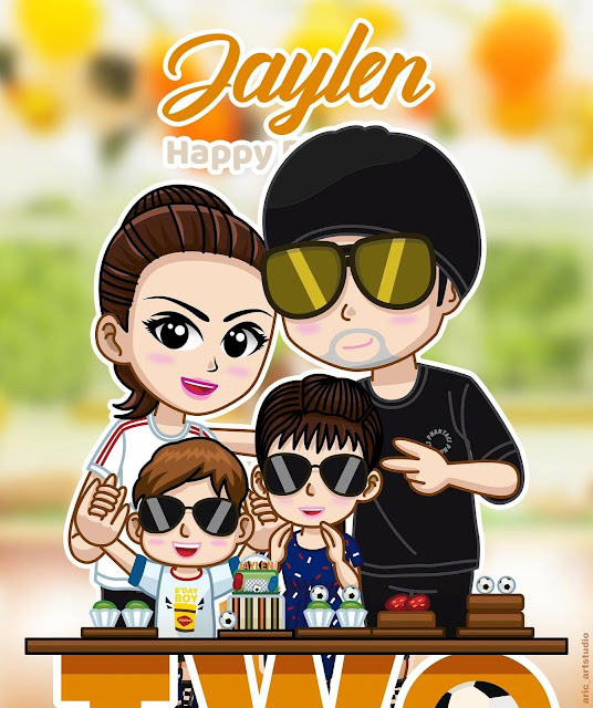 Jay Chou Hannah Quinlivan family photo