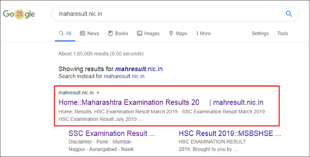 SSC result search
