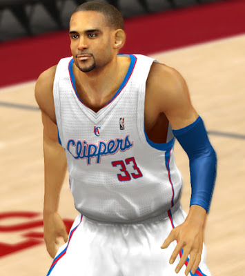 NBA 2K13 Grant Hill Cyberface Patch