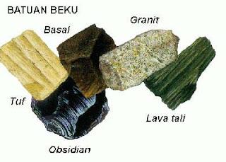 Batuan merupakan benda alam yang menjadi penyusun utama di muka bumi Materi Sekolah    Macam-macam Batuan (Batuan Beku, Batuan Sedimen, Malihan)