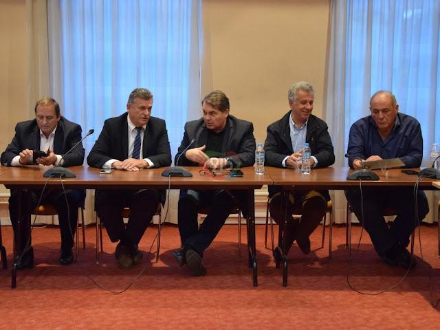 Σταύρος Αργειτάκος νέος πρόεδρος στο ΦΟΔΣΑ Πελοποννήσου - Αντιπρόεδρος ο Γιάννης Σμυρνιώτης (βίντεο)
