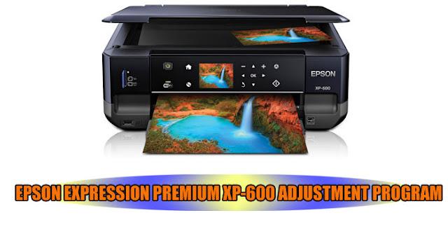 EPSON EXPRESSION PREMIUM XP-600 PRINTER ADJUSTMENT PROGRAM