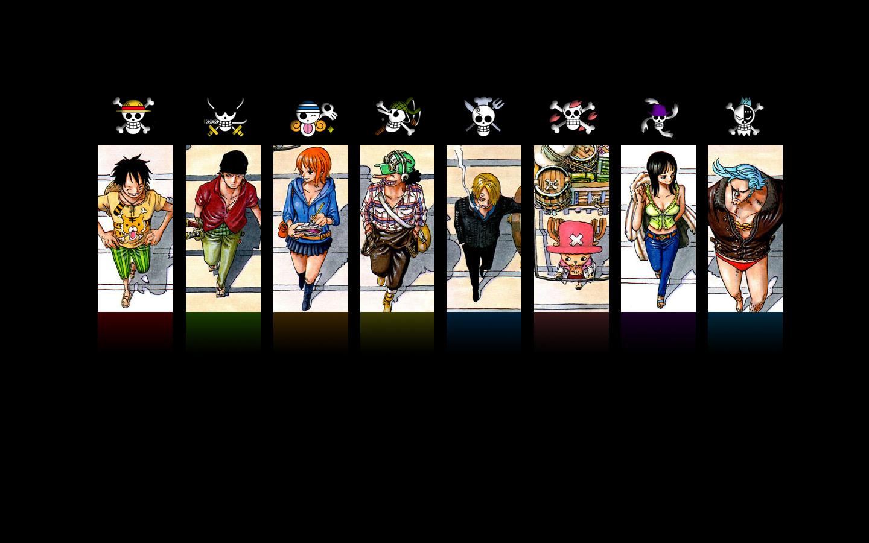 Mugiwaras Crew Symbols One Piece Anime Wallpaper Anime Wallpapers