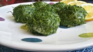 Рецепта за картофени топки с пресен лук и копър