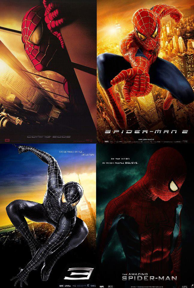 Spiderman Collection (2002-2012) ταινιες online seires oipeirates greek subs