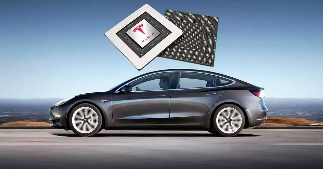 Tesla Model 3 chip