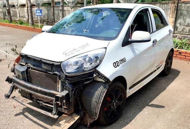 Thiếu tá CSGT gây tai nạn, dọa nạt người bị nạn rồi 'lạnh lùng' lái ô tô rời đi