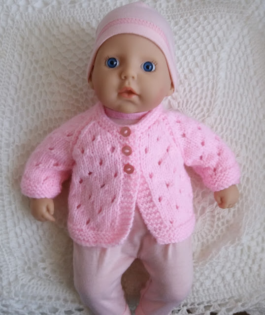 Linmary Knits Baby Annabell Jacket