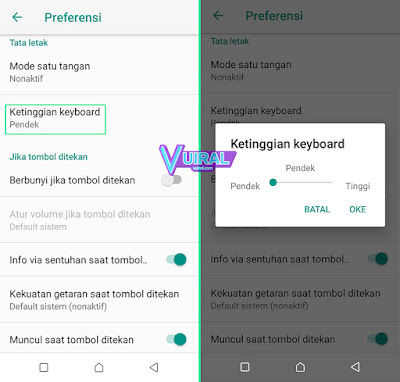 Cara Mengganti Ketinggian Keyboard WA Di Android Menggunakan Gboard