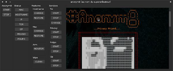 anonym8 - Transparent Proxy through TOR, I2P, Privoxy
