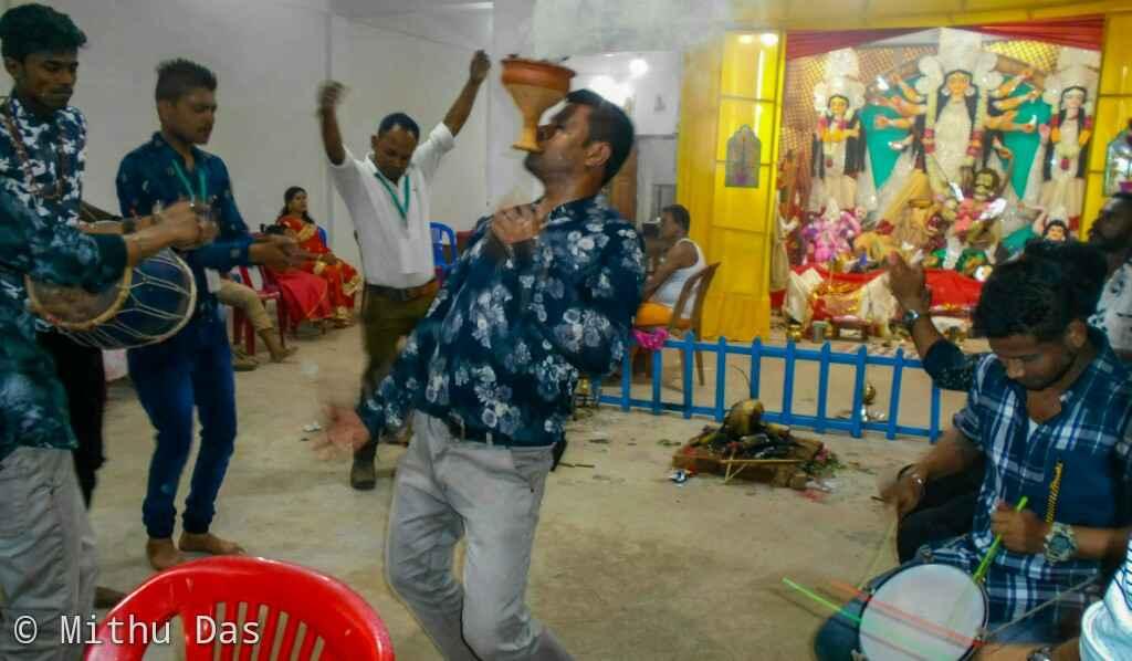 Aarti dance