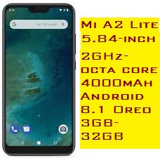 Xiaomi Mi A2 Lite Price & Feature