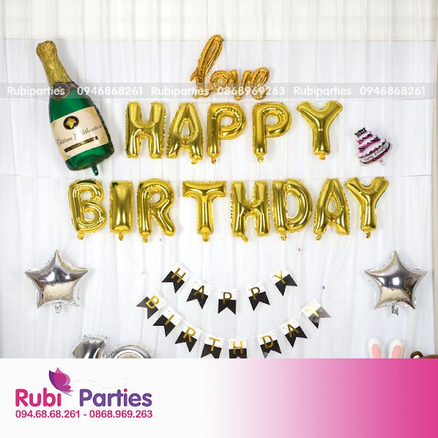 Dịch vụ trang trí sinh nhật trọn gói