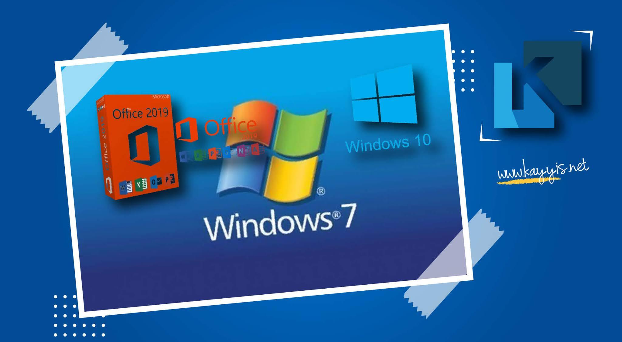 Download Windows 7 10 dan Office 2019 dari Situs Resmi Microsoft