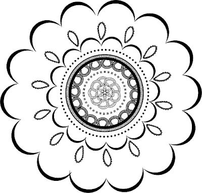 Free Clipart, Mandalas, Flowers Clipart