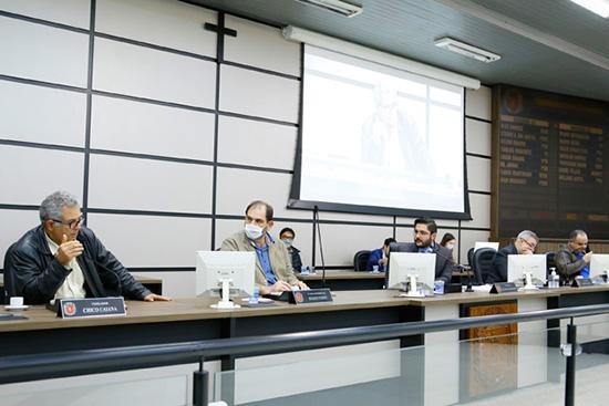 Reunião da CPI da Pandemia. Café com Jornalista
