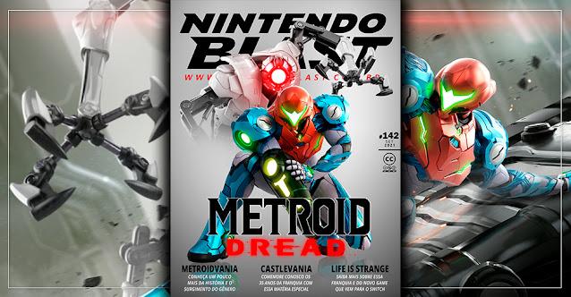Revista Nintendo Blast N.º 142: O que esperar da nova aventura de Samus Aran